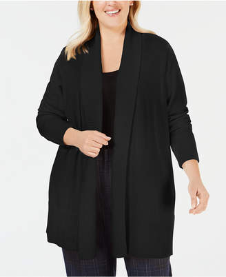 Charter Club Plus Size Cardigan Sweater