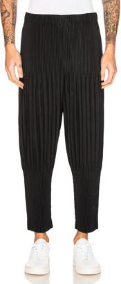 Issey Miyake Homme Plisse Basic Long Pants in Black | FWRD