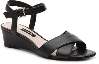 Nine West Laglade Wedge Sandal - Women's
