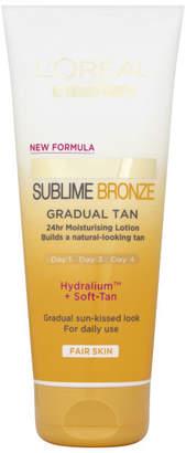 L'Oreal Sublime Bronze Gradual Tan - Fair (200ml)