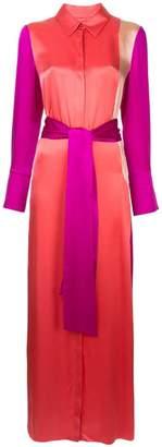 Layeur button down dress