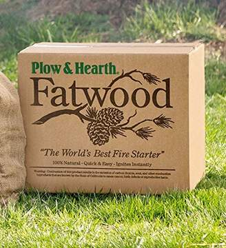 Fatwood 50 LB Box Fire Starter All Natural Organic Resin Rich Eco Friendly Kindling Sticks for Wood Stoves