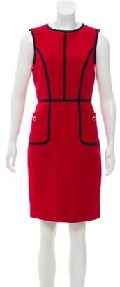 Tory Burch Wool-Blend Knee-Length Dress