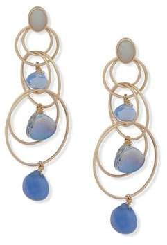 lonna & lilly Round Chandelier Earrings