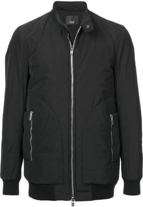 Thamanyah padded biker jacket