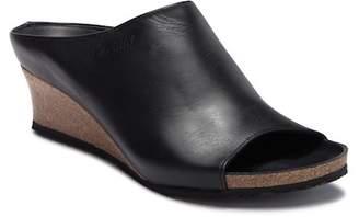 Birkenstock Debby Leather Wedge Sandal - Discontinued