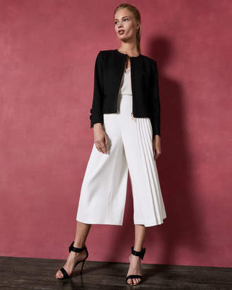 Ted Baker NADAE Cropped bow detail jacket