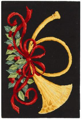 Safavieh Vintage Posters Black Area Rug Rug