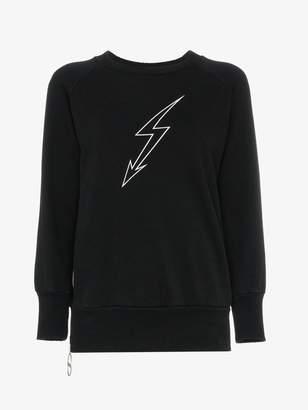Givenchy lightning bolt graphic sweatshirt