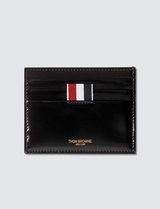 Thom Browne Calf Leather Card Holder