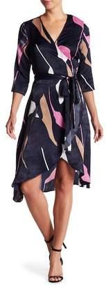 Vero Moda Print Wrap Dress