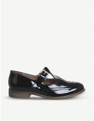 Office Fop patent leather T-bar shoes