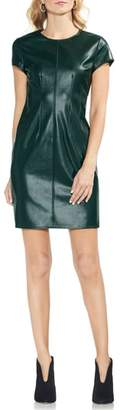 Vince Camuto Faux Leather Minidress