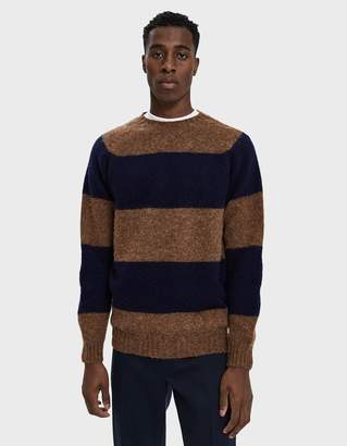 Officine Generale Scottish Shetland Crewneck Sweater