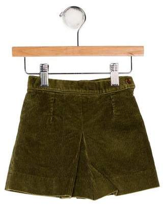 Papo d'Anjo Girls' Corduroy Pleated Skirt