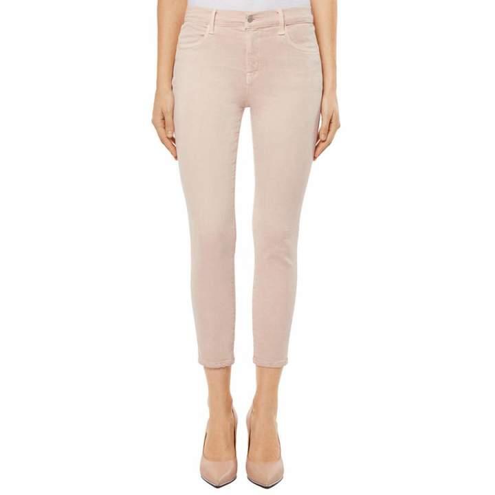 Memory Pink Alana Cropped Skinny Stretch Jeans