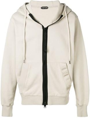 Tom Ford zip up hoodie