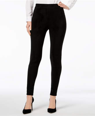 INC International Concepts I.N.C. Faux-Suede Leggings, Created for Macy's