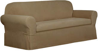 Maytex Mills Maytex Smart Cover Torie Medallion Stretch 2 Piece Sofa Furniture Cover Slipcover
