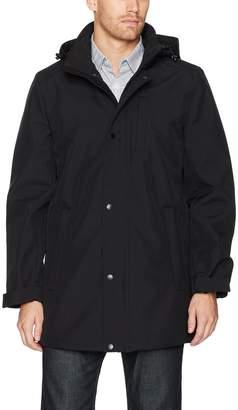 Nautica Men's Stretch Hooded Softshell Commuter Jacket