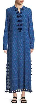 Figue Paolina Mirage Ikat Maxi Dress