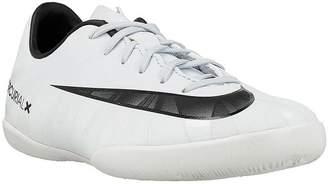 Nike Jr. Mercurial Victory VI CR7 IC Indoor Soccer Shoe (Sz. 3.5Y) Blue Tint, White