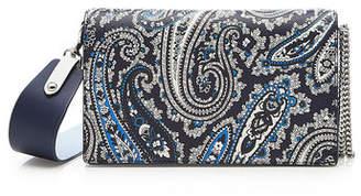 Diane von Furstenberg Soiree Crossbody Leather Bag
