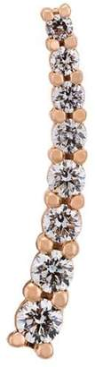 Alinka small Dasha diamond slider earring