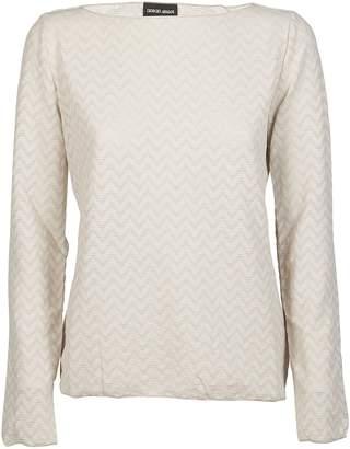 Giorgio Armani Zig Zagged Sweater