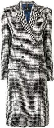 Paul Smith midi buttoned coat