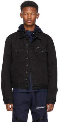 Off-White Off White Black Padded Denim Jacket