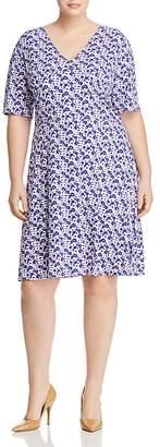 MICHAEL Michael Kors Carnation-Print Swing Dress