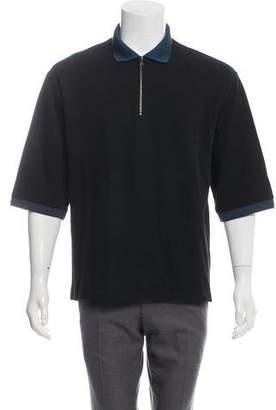 Acne Studios 2015 Everet Zip Polo Shirt