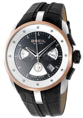 Breil Milano Women's Stainless Steel and Leather Casual Watch