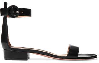 Gianvito Rossi Portofino 20 Leather Sandals - Black