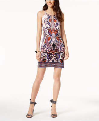 INC International Concepts I.n.c. Embellished Halter Sheath Dress, Created for Macy's