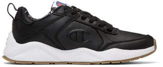 Champion Reverse Weave Black 93Eighteen Sneakers