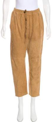 Vince Suede High-Rise Pants w/ Tags