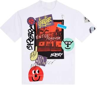 Burberry Graffiti Polaroid T-Shirt