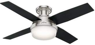 "Hunter Fan 44"" Dempsey Low Profile 4-Blade Ceiling Fan with Remote"