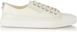 Jimmy Choo IMPALA/LO/M Cotton Canvas and Soft Leather Lo Trainer