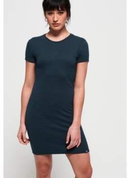 Superdry Evie Textured Tee Dress