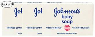 Johnson's Baby Johnson's Baby Soap With Moisturizers (100g Approx.) (Pack of 3)