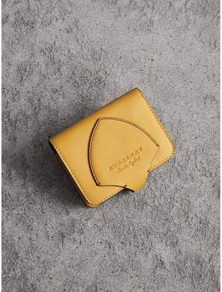 Burberry Equestrian Shield Leather Card Case