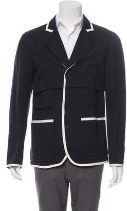 Bottega Veneta Notch-Lapel Four-Button Blazer