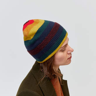 Warehouse Rainbow Stripe Beanie