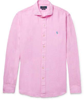 Polo Ralph Lauren Slim-fit Linen Shirt - Pink