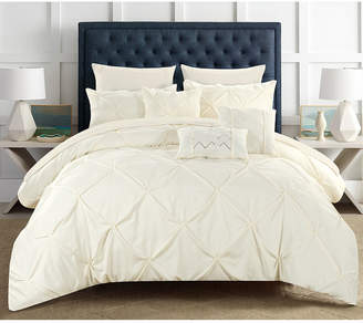 Chic Home Hannah 8 Piece Twin Bed In a Bag Comforter Set Bedding