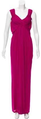Donna Karan Sleeveless Maxi Dress