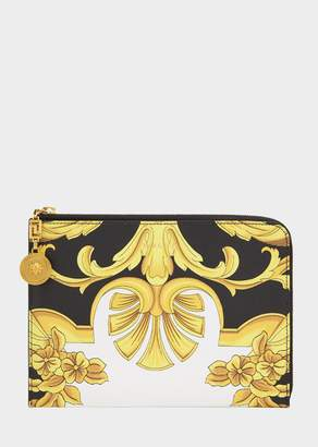 Versace Small Barocco Print Pouch